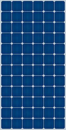 tile roof: pannello solare Vettoriali