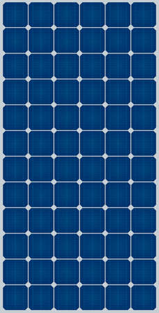 green grid: solar panel