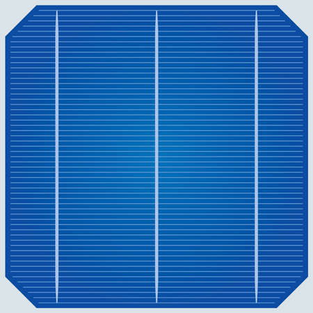 tile roof: una cella di pannello solare (piastrellabile sfondo) Vettoriali