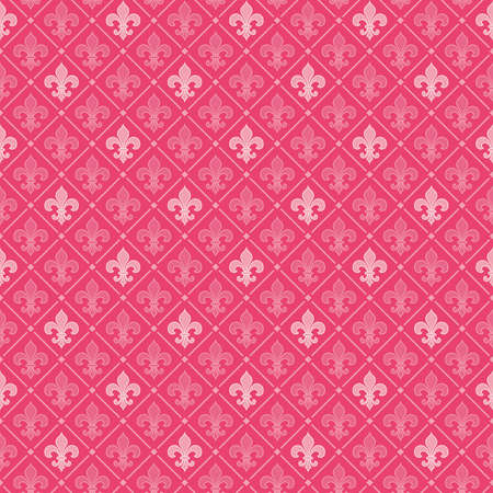 Honeysuckle seamless background (pantone fashion color for 2011) Vector