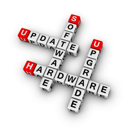 hardware repair: upgrade hardware and update software