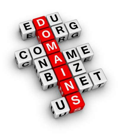 domain names Stock Photo - 9450583