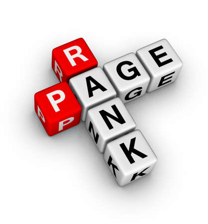 page rank Stock Photo - 9673142