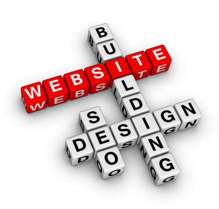 website building Stock Photo - 9673143