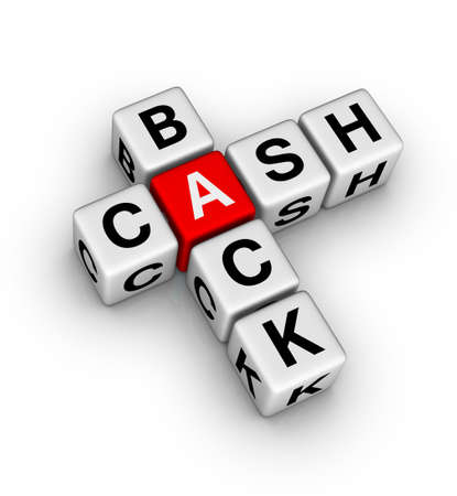 cash back label photo