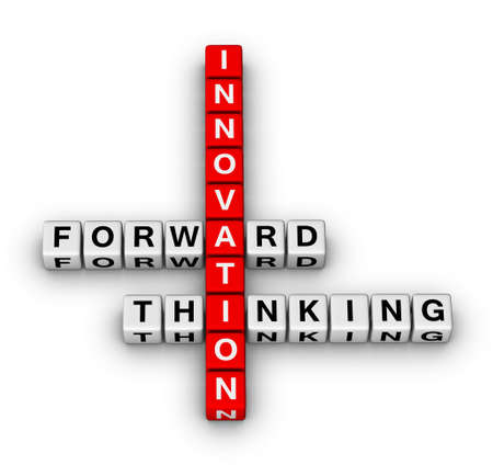 forward thinking innovation crossword puzzle photo