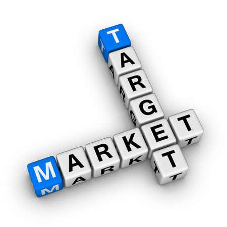 analisys: target market crossword symbol