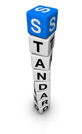 standards: standard symbol Stock Photo