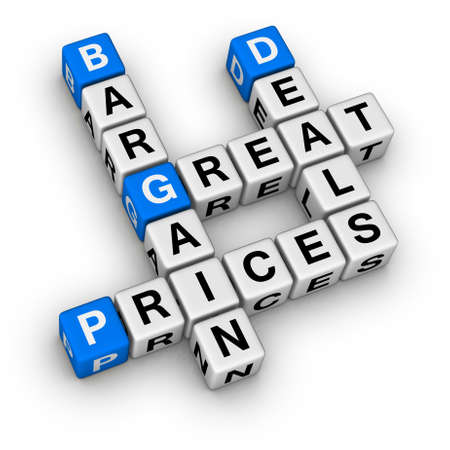 benefits: great deals and bargain prices