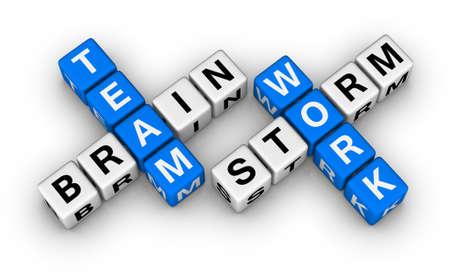 competencias laborales: Brainstorm y trabajo en equipo