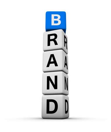 buzzword: brand Stock Photo