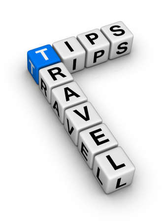 travel guide: travel tips Stock Photo