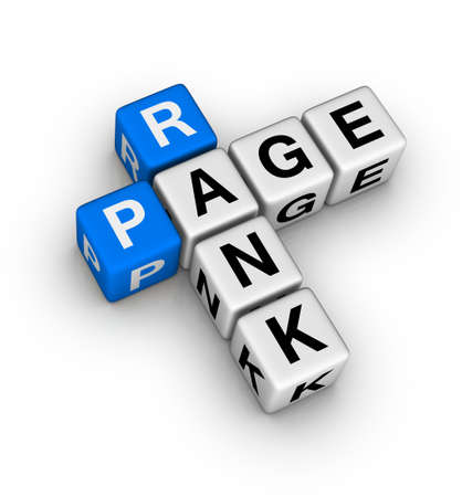 website words: page rank