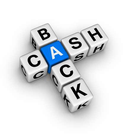 cash back label Stock Photo - 9713568