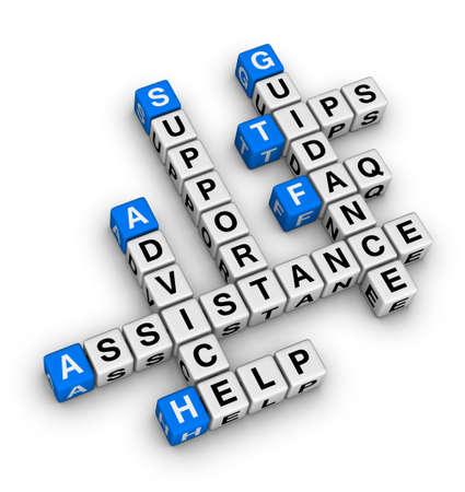 apoyo social: Ayuda y soporte t�cnico de crucigramas