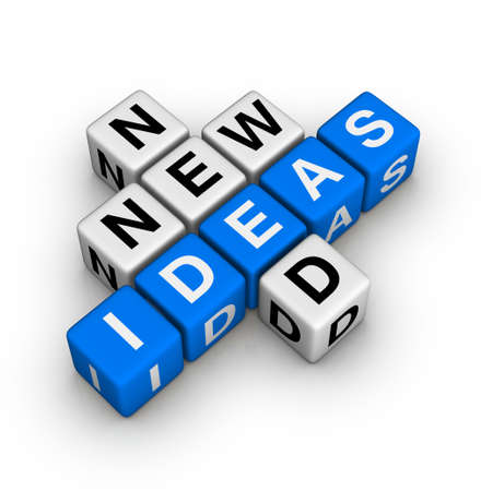 new solution: need new ideas Stock Photo