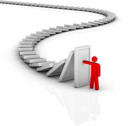 ubezpieczenia: efekt domina i rozwiązywania problemów