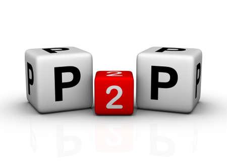peer to peer: Peer to Peer symbol