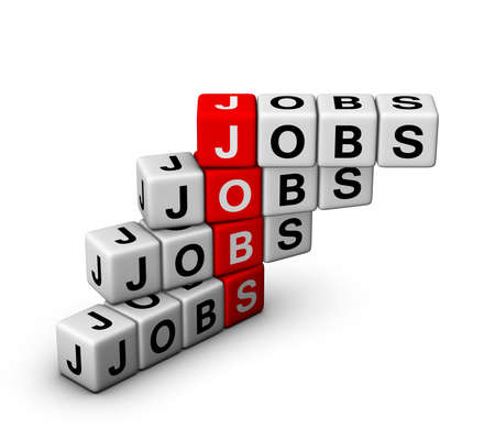 employment issues: jobs Stock Photo