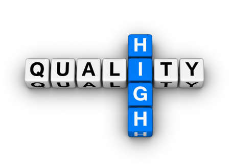quality control: high quality label for online store