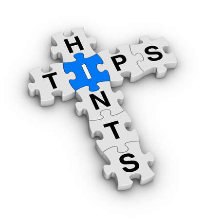 tips and hints jigsaw puzzle icon photo