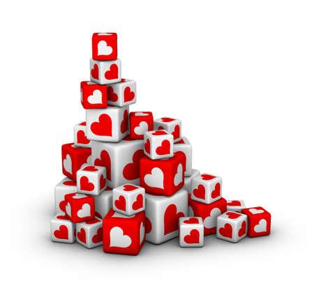 design element for valentines day sales photo