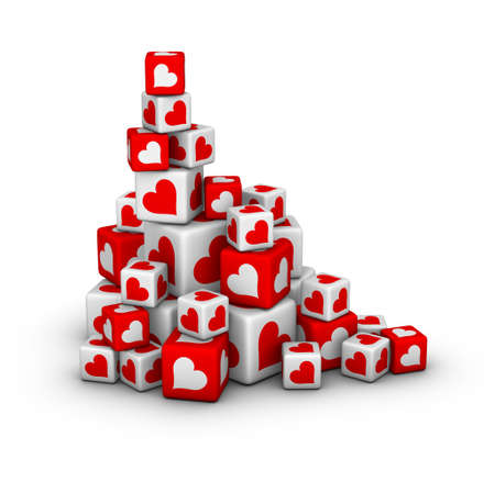 design element for valentines day sales Archivio Fotografico