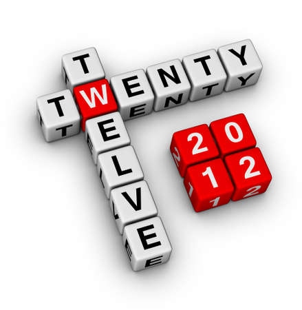 xmass: 2012 - twenty twelve crossword