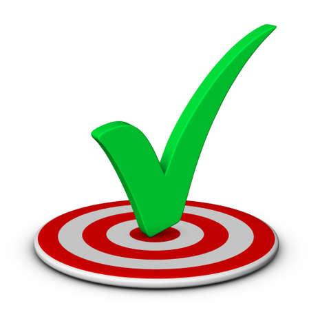 target business: marca de verificaci�n y de destino