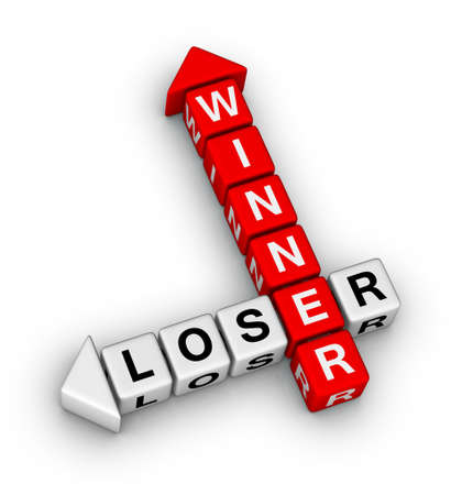 losers: winner and loser crossword puzzle