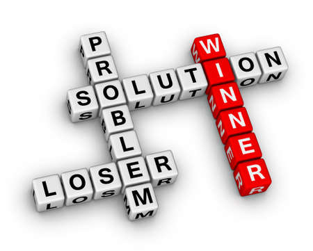 loser: winner and loser crossword puzzle