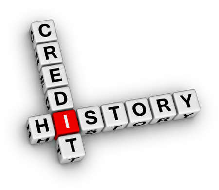 credit history 3d crossword puzzle stock photo, picture and, Powerpoint templates