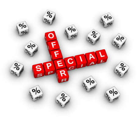 special offer (3D sales sign) Stock Photo - 12374246