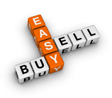 easy: easy trading Stock Photo