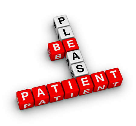 paciencia: Please Be Patient crucigrama