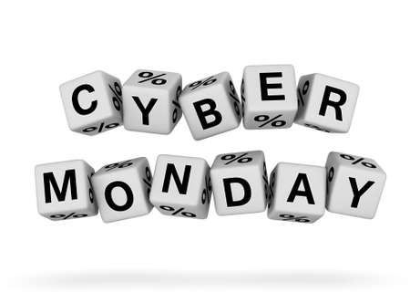 Cyber Monday design element Stock Photo - 16924449