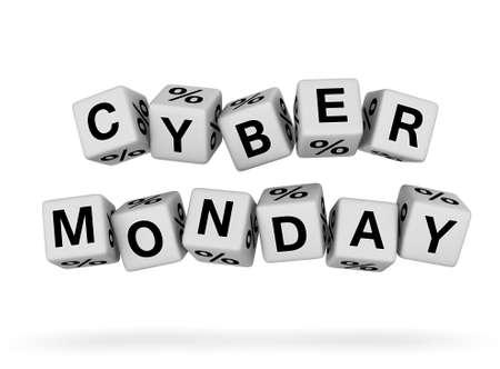 Cyber Monday design element Stock Photo - 16924449