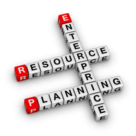 Enterprise Resource Planning (ERP) crossword puzzle photo