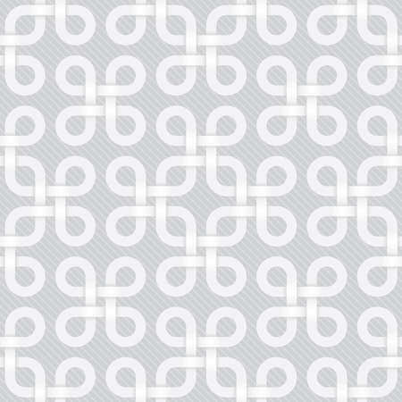 light gray celtic seamless pattern Vector