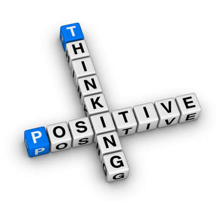 optimist: Positive thinking crossword puzzle