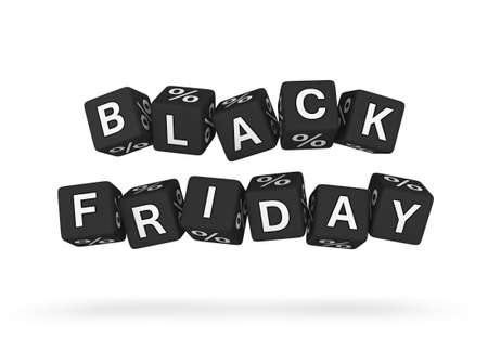 perks: Black Friday design element Stock Photo