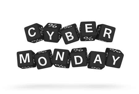 Lément de conception Cyber ??lundi Banque d'images - 22345345