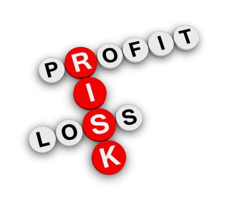 perdidas y ganancias: beneficio riesgo crucigrama p�rdida