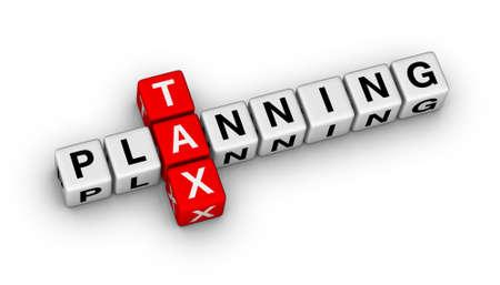 세금 계획 큐브 크로스 워드 퍼즐