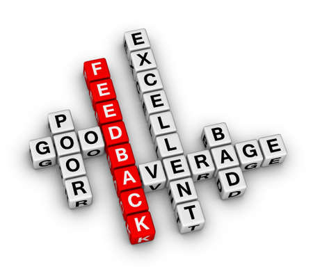 feedback form cubes crossword puzzle photo