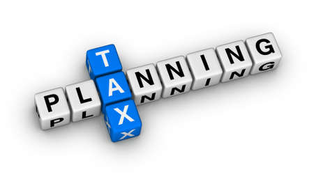tax planning cubes crossword puzzle photo