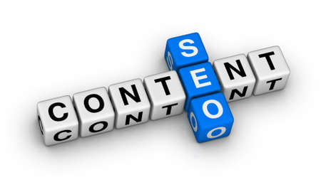 content seo symbol crossword puzzle photo