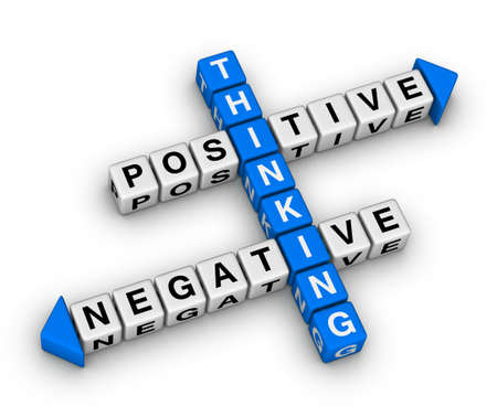 crossword: positive and negative thinking crossword puzzle