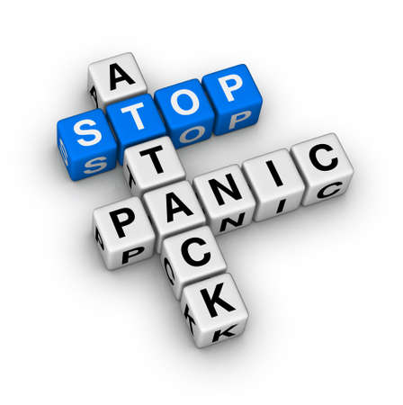 emotional pain: stop panic attack crossword puzzle