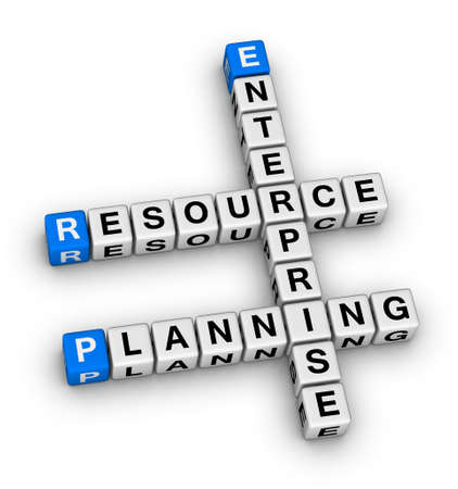 enterprise resource planning crossword puzzle photo